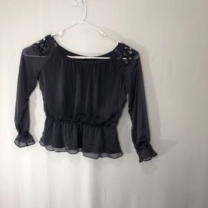 Collection Dressbarn Womens Blouse Size 14